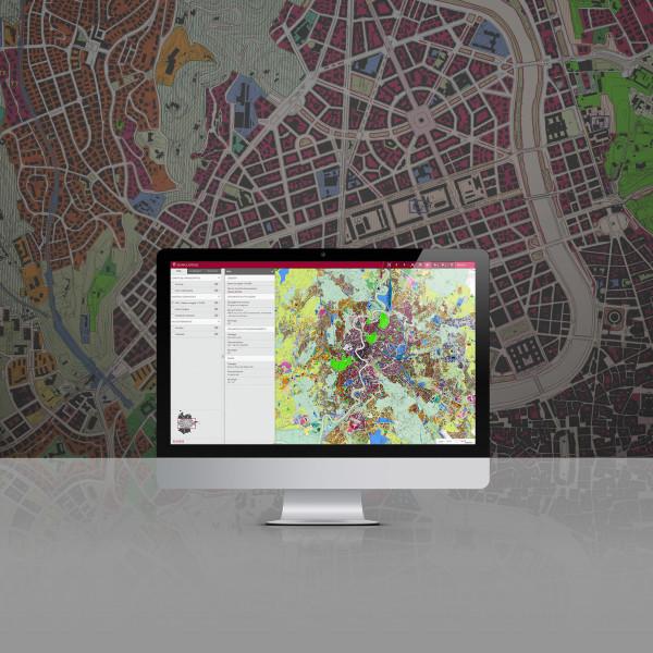 webGIS per il PRG del Comune di Roma