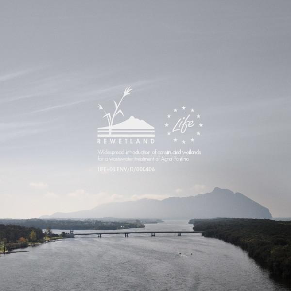 """progetto LIFE """"Rewetland"""": il Promontorio del Circeo sullo sfondo del Lago di Paola"""