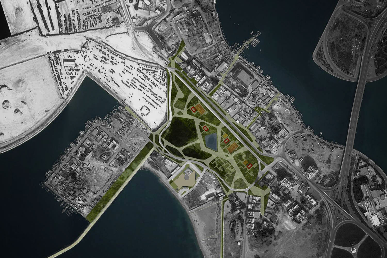 Parco urbano a Benghazi, Libia