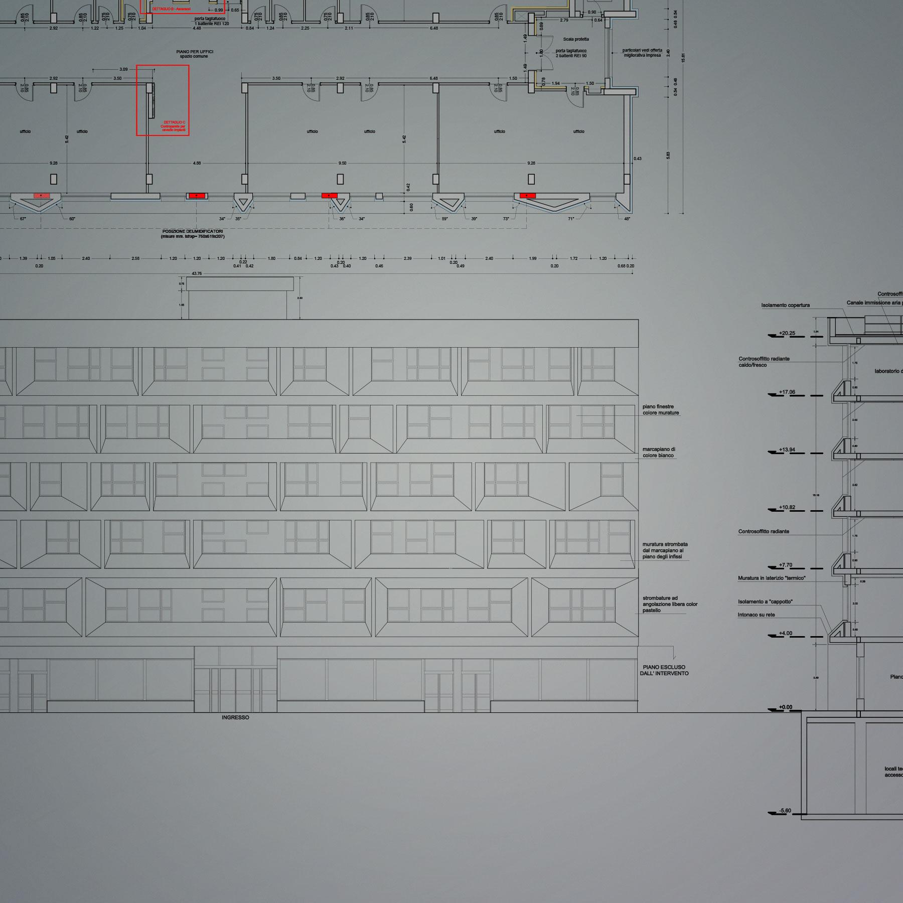 """Riqualificazione energetica del """"Palazzo di Vetro"""" ad Aprilia"""